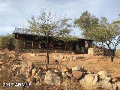 Morristown Single Family Home For Sale: 662 Hc Lake Pleasant/Castle Hot Sprin