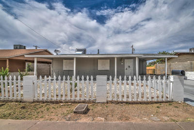 Phoenix Single Family Home For Sale: 1312 E Chambers Street