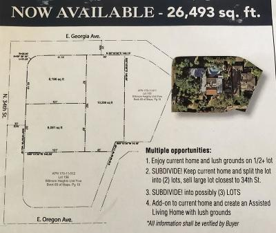 Phoenix Residential Lots & Land For Sale: 5309 N 34th Street
