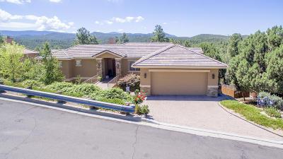 Prescott AZ Single Family Home For Sale: $665,000