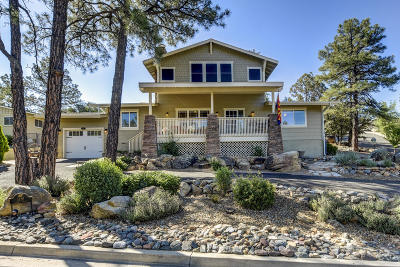 Prescott AZ Single Family Home For Sale: $625,000