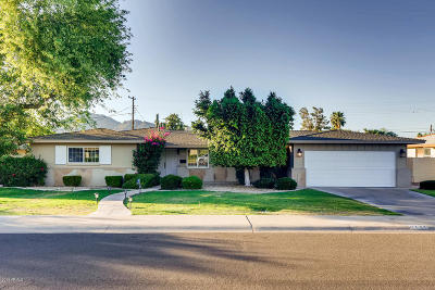 Scottsdale Single Family Home UCB (Under Contract-Backups): 6232 E Rose Circle Drive