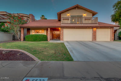Tempe Single Family Home For Sale: 5523 S Compass Road