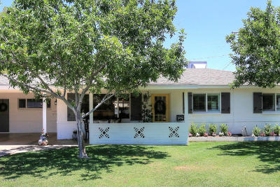 Scottsdale Single Family Home UCB (Under Contract-Backups): 3401 N 62nd Place