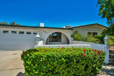 Tempe Single Family Home UCB (Under Contract-Backups): 1844 E Sesame Street