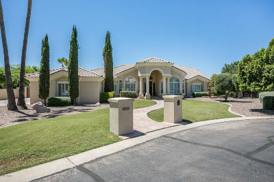 Gilbert Single Family Home For Sale: 4419 E Indigo Bay Drive
