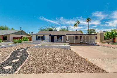 Phoenix Single Family Home For Sale: 1343 E Mulberry Street