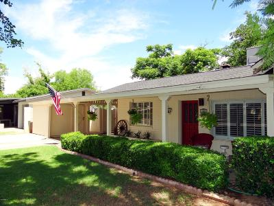 Phoenix Single Family Home For Sale: 1220 W Palo Verde Drive