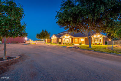 Mesa,  Gilbert,  Chandler,  Queen Creek, Gold Canyon, San Tan Valley Single Family Home For Sale: 24307 S Lindsay Road