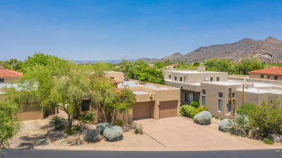 Scottsdale Single Family Home For Sale: 7500 E Boulders Parkway #7