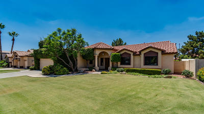 Gilbert Single Family Home For Sale: 1140 N Date Palm Drive