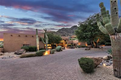 Paradise Valley Single Family Home For Sale: 7500 N Black Rock Trail