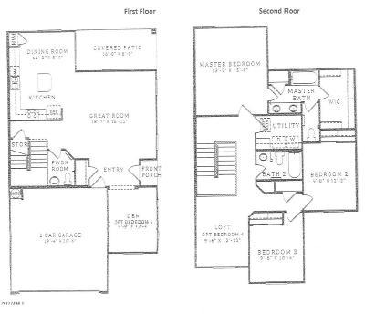 Chandler Condo/Townhouse For Sale: 1255 N Arizona Avenue #1258
