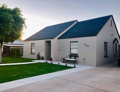 Phoenix Single Family Home UCB (Under Contract-Backups): 538 W Wilshire Drive