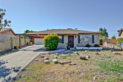 Phoenix Single Family Home UCB (Under Contract-Backups): 10215 N 17th Drive