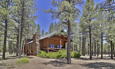 Pinetop Single Family Home For Sale: 9514 Sierra Springs Drive