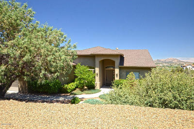 Prescott AZ Single Family Home For Sale: $535,000