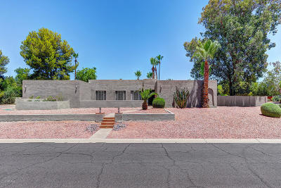 Scottsdale Single Family Home For Sale: 6542 E Ludlow Drive