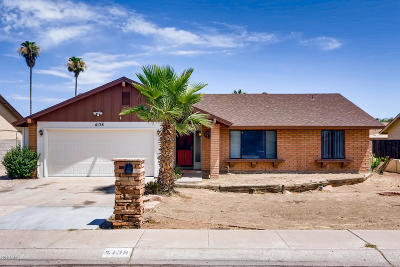 Phoenix Single Family Home For Sale: 4138 W Aster Drive