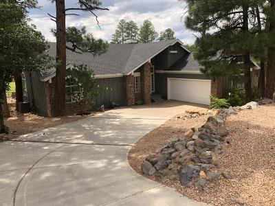 Show Low Single Family Home For Sale: 3681 Country Club Drive