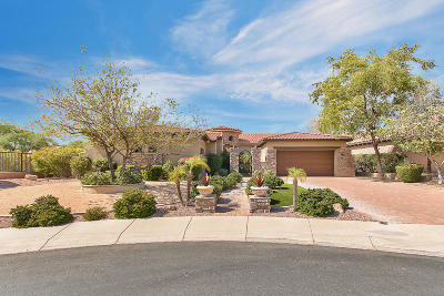 Scottsdale Single Family Home For Sale: 9804 E Davenport Drive