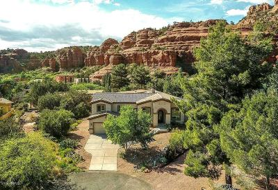 Sedona Single Family Home For Sale: 40 Cove Drive
