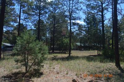 Overgaard AZ Residential Lots & Land For Sale: $21,500