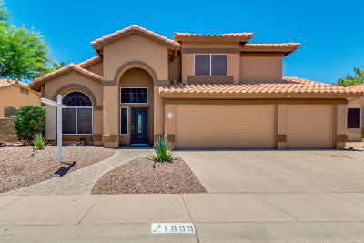 Chandler Single Family Home For Sale: 1609 W Gunstock Loop