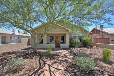 Phoenix Single Family Home For Sale: 2517 N 8th Street