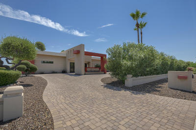 Scottsdale Single Family Home For Sale: 6831 E Thunderbird Road
