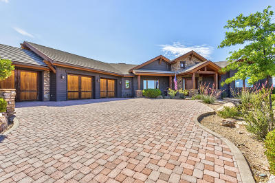 Prescott Single Family Home For Sale: 12395 W Hermitage Way