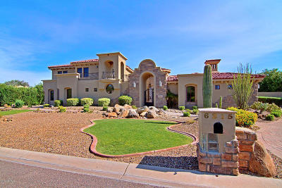 Paradise Valley Single Family Home For Sale: 6215 E Turquoise Avenue