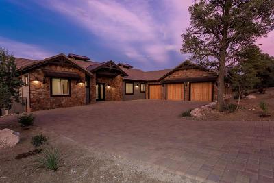 Prescott Single Family Home For Sale: 15385 N Badlands Circle