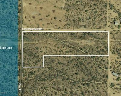 Scottsdale Residential Lots & Land For Sale: E Lone Mountain Road