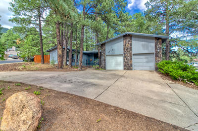 Flagstaff Single Family Home For Sale: 3340 N Harris Way