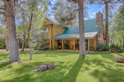Pinetop Single Family Home For Sale: 2750 Loma Linda Drive