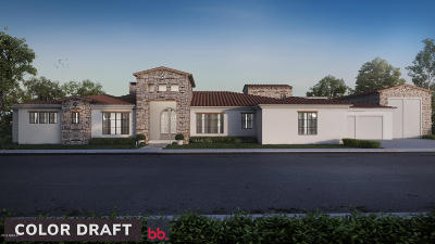Scottsdale Single Family Home For Sale: 6350 E Lomas Verdes Drive
