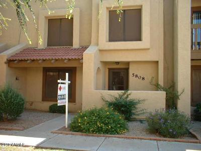 Glendale Condo/Townhouse For Sale: 5808 W Winchcomb Drive