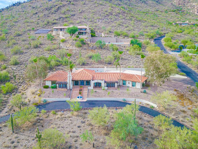 Carefree AZ Single Family Home For Sale: $1,600,000