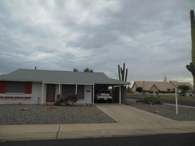 Sun City Rental For Rent: 10647 W El Rancho Drive