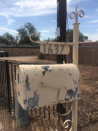 Phoenix Residential Lots & Land For Sale: 1637 W Desert Cove Avenue