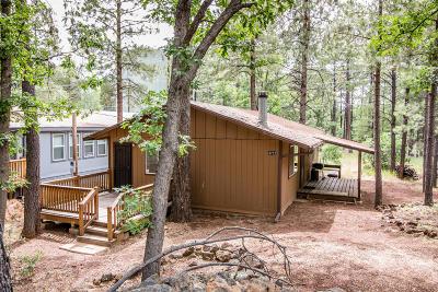 Pinetop Single Family Home For Sale: 4212 Mark Twain Drive