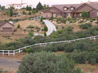 Dewey, Humboldt Single Family Home For Sale: 14465 E Datura Lane