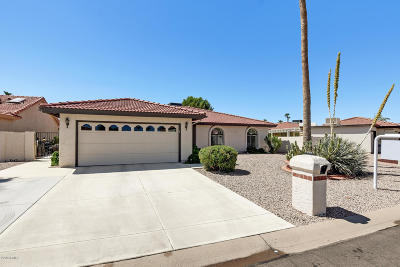 Sun Lakes Single Family Home UCB (Under Contract-Backups): 10309 E Silvertree Court