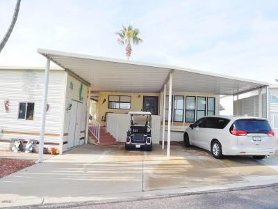 Surprise Mobile/Manufactured For Sale: 17200 W Bell Road #156