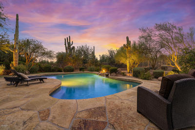 Scottsdale Single Family Home For Sale: 7880 E Softwind Drive