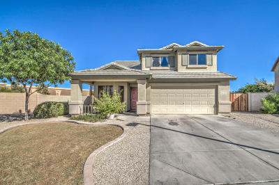 Goodyear Single Family Home UCB (Under Contract-Backups): 15719 W Moreland Street