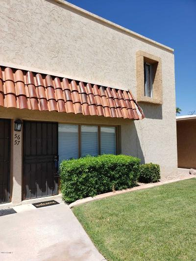 Phoenix Condo/Townhouse For Sale: 1320 E Bethany Home Road #57