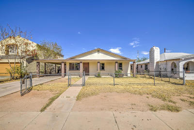 Casa Grande Single Family Home For Sale: 210 N Coolidge Avenue