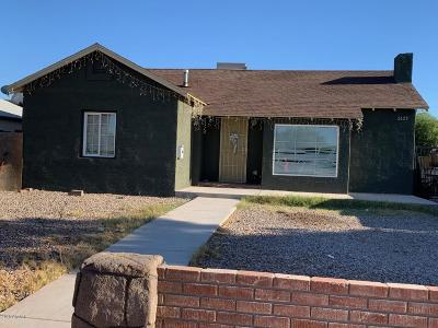 Phoenix Single Family Home For Sale: 2429 W Adams Street